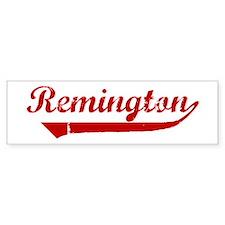 Remington (red vintage) Bumper Bumper Sticker