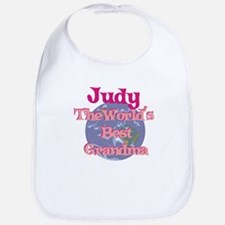 Judy - Best Grandma in the Wo Bib