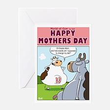 Diet advice(Mom version) Greeting Card
