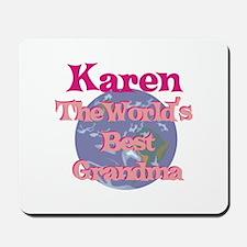 Karen - Best Grandma in the W Mousepad