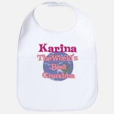 Karina - Best Grandma in the Bib