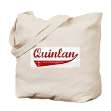 Quinlan (red vintage) Tote Bag