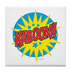 KABOOM! Tile Coaster