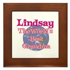 Lindsay - Best Grandma in the Framed Tile