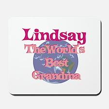 Lindsay - Best Grandma in the Mousepad