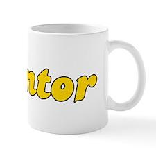 Retro Mentor (Gold) Mug