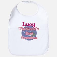 Lucy - Best Grandma in the Wo Bib