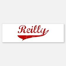 Reilly (red vintage) Bumper Bumper Bumper Sticker