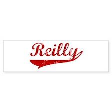Reilly (red vintage) Bumper Bumper Sticker