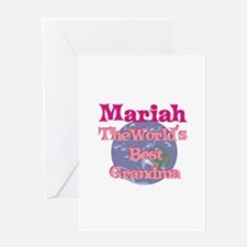 Mariah - Best Grandma in the Greeting Card