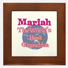 Mariah - Best Grandma in the Framed Tile
