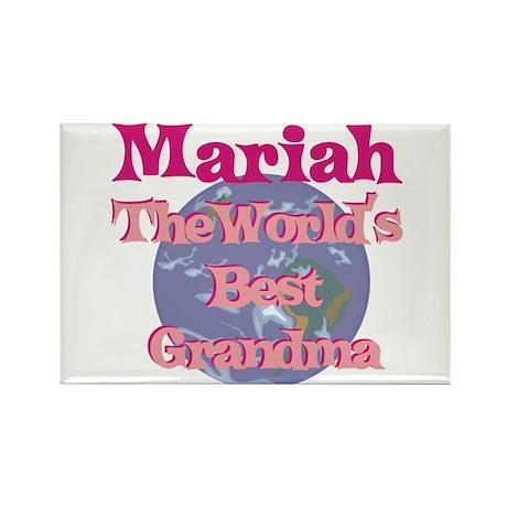 Mariah - Best Grandma in the Rectangle Magnet