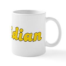 Retro Meridian (Gold) Mug