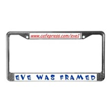 Eve License Plate Frame