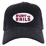 Ruby on Rails Black Cap