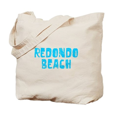 Redondo Beach Faded (Blue) Tote Bag