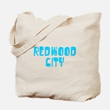 Redwood City Faded (Blue) Tote Bag