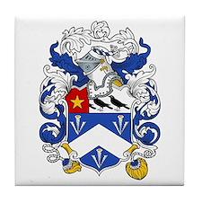 Dawson Family Crest Tile Coaster