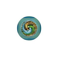 Triple Goddess Circle Mini Button (10 pack)
