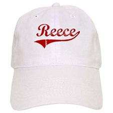Reece (red vintage) Baseball Cap
