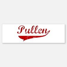 Pullen (red vintage) Bumper Bumper Bumper Sticker
