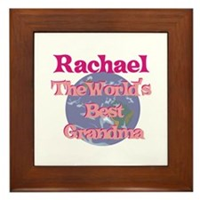 Rachael - Best Grandma in the Framed Tile