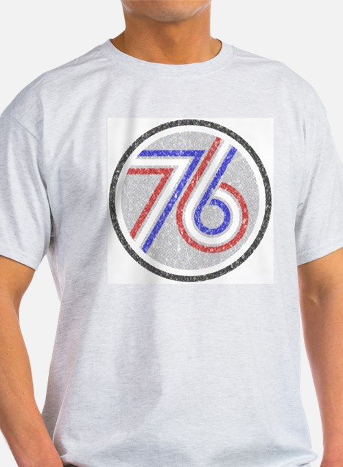 The Spirit of 76 Ash Grey T-Shirt