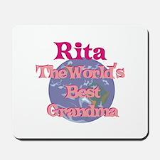 Rita - Best Grandma in the Wo Mousepad