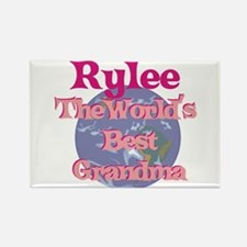 Rylee - Best Grandma in the W Rectangle Magnet