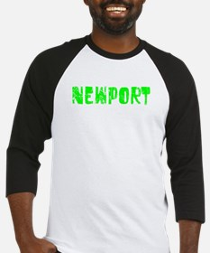 Newport Faded (Green) Baseball Jersey