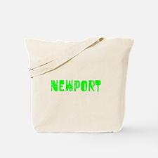 Newport Faded (Green) Tote Bag