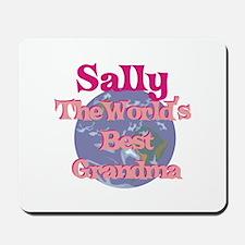 Sally - Best Grandma in the W Mousepad