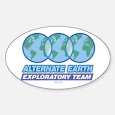 Alternate Earth Oval Decal
