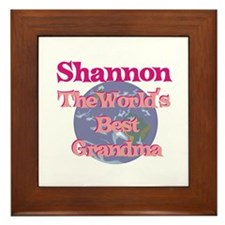 Shannon - Best Grandma in the Framed Tile