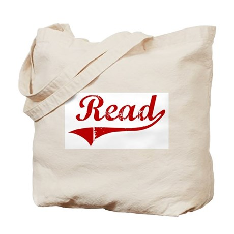 Read (red vintage) Tote Bag