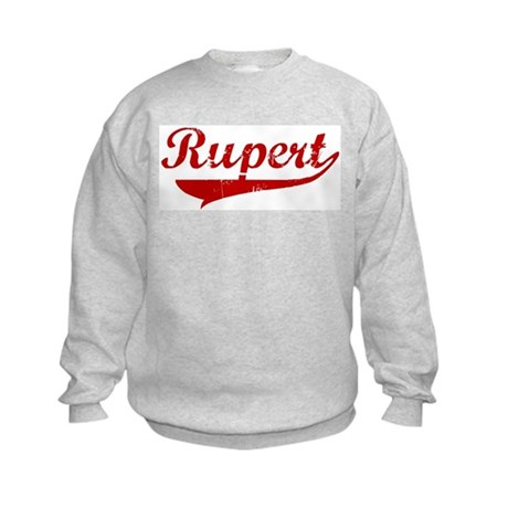 Rupert (red vintage) Kids Sweatshirt