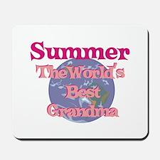 Summer - Best Grandma in the Mousepad