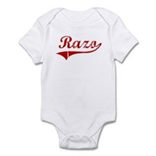 Razo (red vintage) Infant Bodysuit