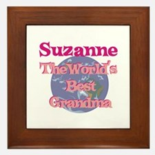Suzanne - Best Grandma in the Framed Tile