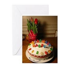 Unique Desserts Greeting Cards (Pk of 10)