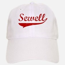 Sewell (red vintage) Baseball Baseball Cap