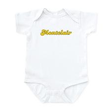 Retro Montclair (Gold) Infant Bodysuit