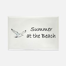 Summer at the Beach Rectangle Magnet