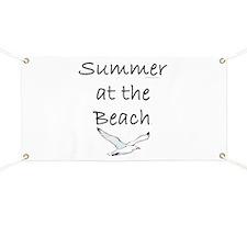 Summer at the Beach Banner