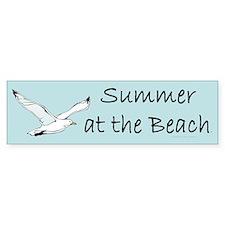 Summer at the Beach Bumper Bumper Sticker