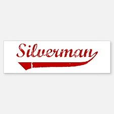 Silverman (red vintage) Bumper Bumper Bumper Sticker