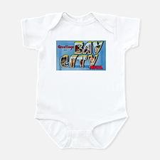 Bay City Michigan Greetings Infant Bodysuit