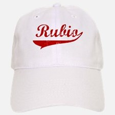 Rubio (red vintage) Baseball Baseball Cap