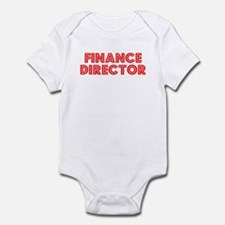 Retro Finance Dir.. (Red) Infant Bodysuit