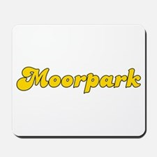 Retro Moorpark (Gold) Mousepad